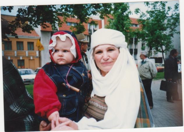 Vilniuje su Austyte