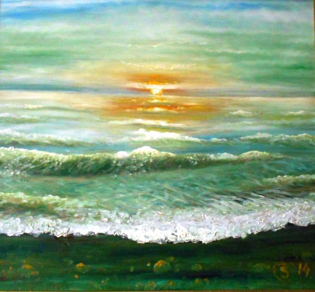 Jūra. Žalioji banga