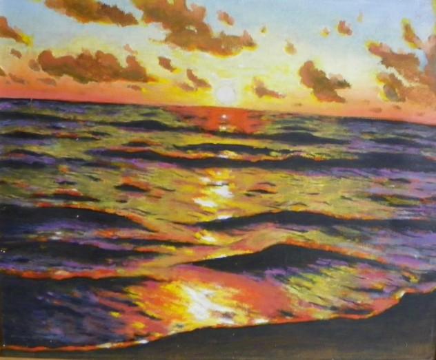 Jūra Žilvino vakaras