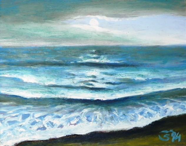 Jūra. Pavakarys